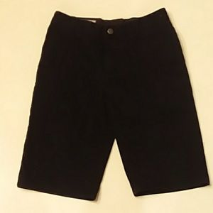 Volcom size 27 14 black shorts